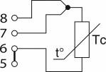 Схема подключения термопреобразователя сопротивления по 3-х проводной схеме
