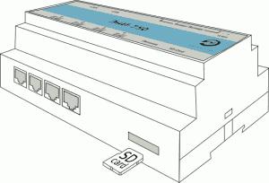 Подключение SD карты к ПЛК ЭнИ-750