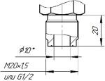 Присоединение к процессу М20d, G1/2d