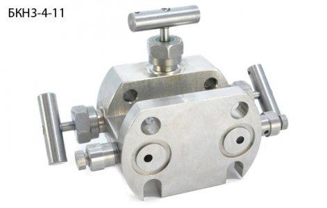 3-, 5- клапанные блоки фланцевые БКН3, БКН5