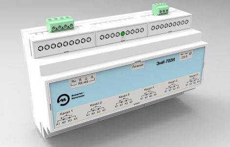 Шестиканальный измерительный модуль ЭнИ-702И