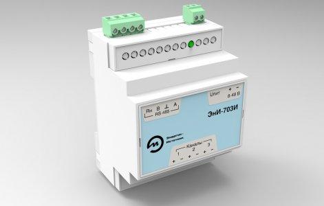 Трехканальный измеритель тока ЭнИ-703И