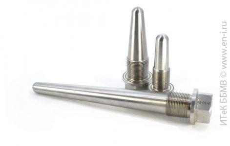 Конические резьбовые термометрические гильзы ГТ702, ГТ 712