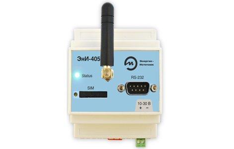 Модем ЭнИ-405 (GSM/GPRS-RS-485/RS-232)